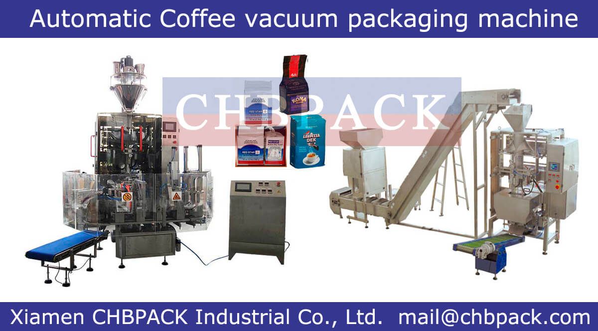 coffee vacuum packaging machine & filling machine, Automatic coffee ...