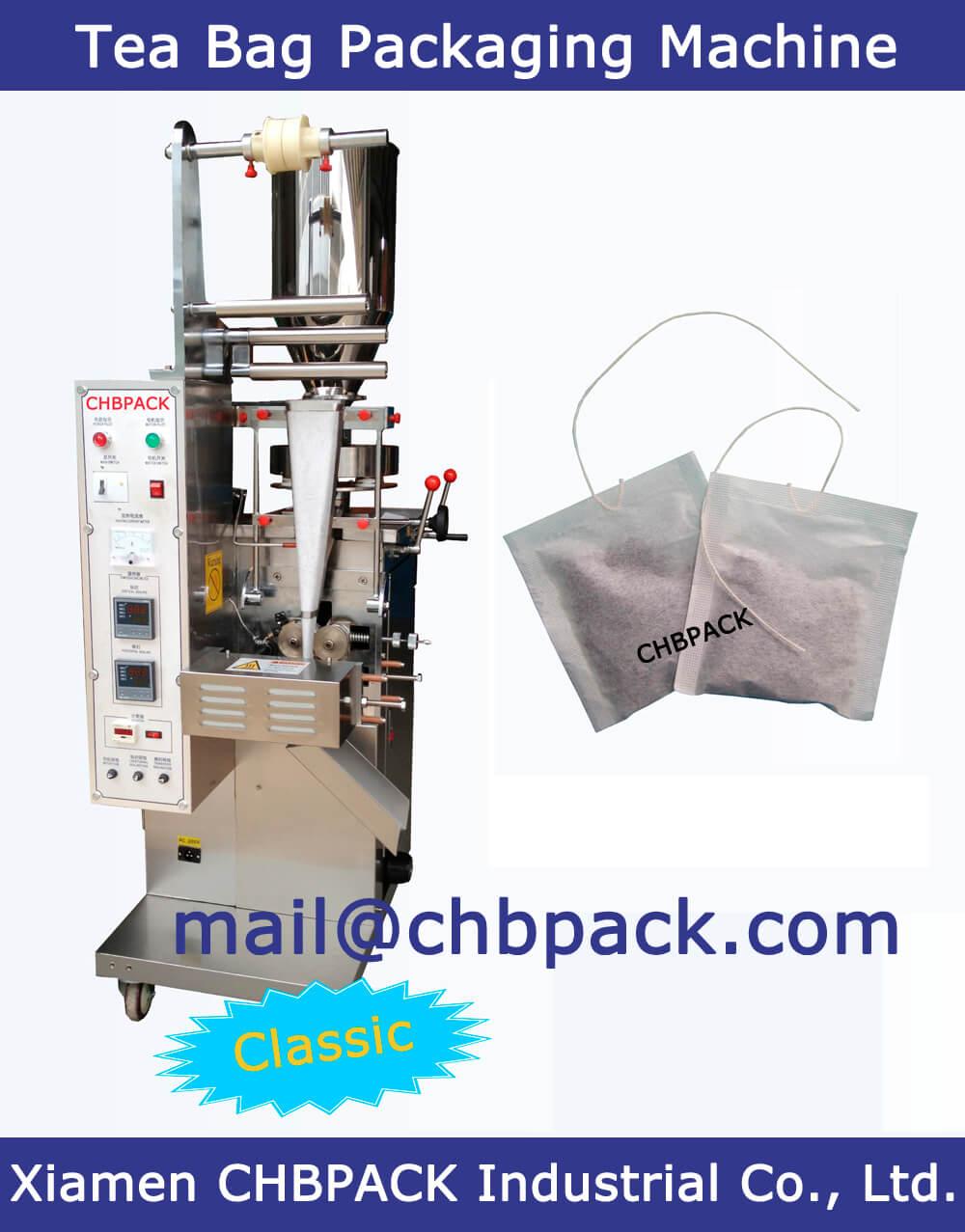 tea bag packing machine