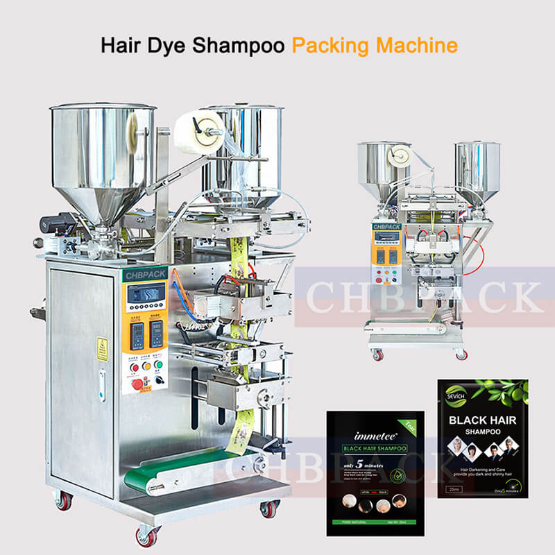 Hair Color Shampoo Packing Machine